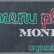 Menu Plan Monday 04/08/2013