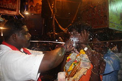 Removal of The Rod at Marriamman Temple Nehru Nagar by firoze shakir photographerno1