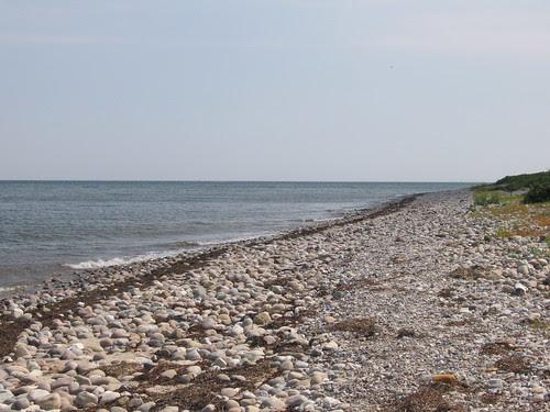 Vakker strand på Fyn