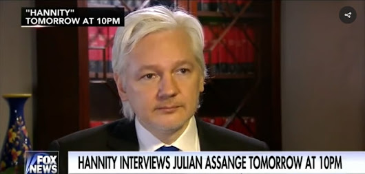 Julian Assange Says: Source For WikiLeaks Was Not Russian Government - Resistance Feed