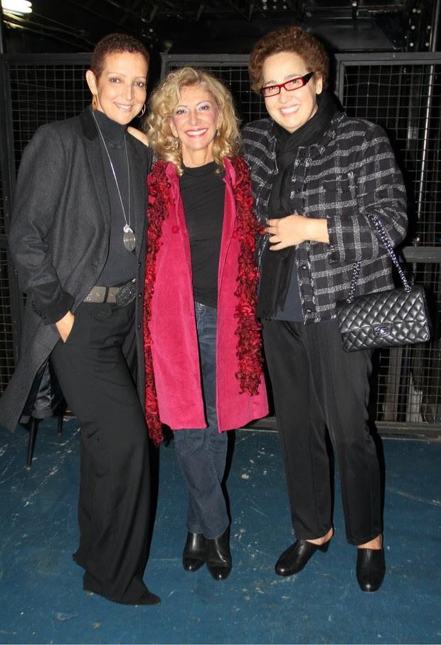 Betty Lago, Claudia Jimenez e Arlete Salles (Foto:  Fausto Candelaria/ Agnews )