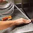 Use Simple Plastic Tubing to Seal the Gap Between Kitchen Countertops and Appliances [Household]