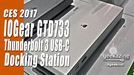 IOGEAR GTD733 Thunderbolt 3 USB-C Docking Station