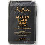 Shea Moisture African Black Soap with Shea Butter - 8 oz bar