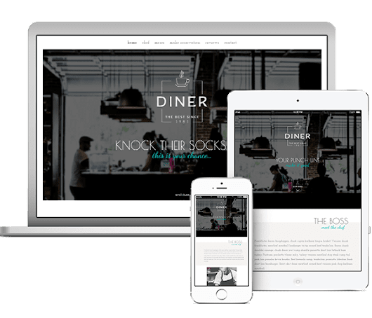 Diner Layout | Infinite Imagination Web Design and Development