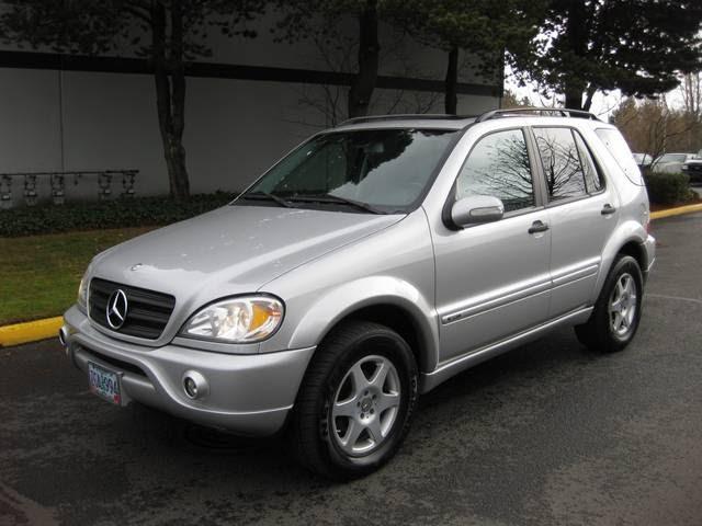2002 Mercedes-Benz ML320 / Sport Pkg/ AWD