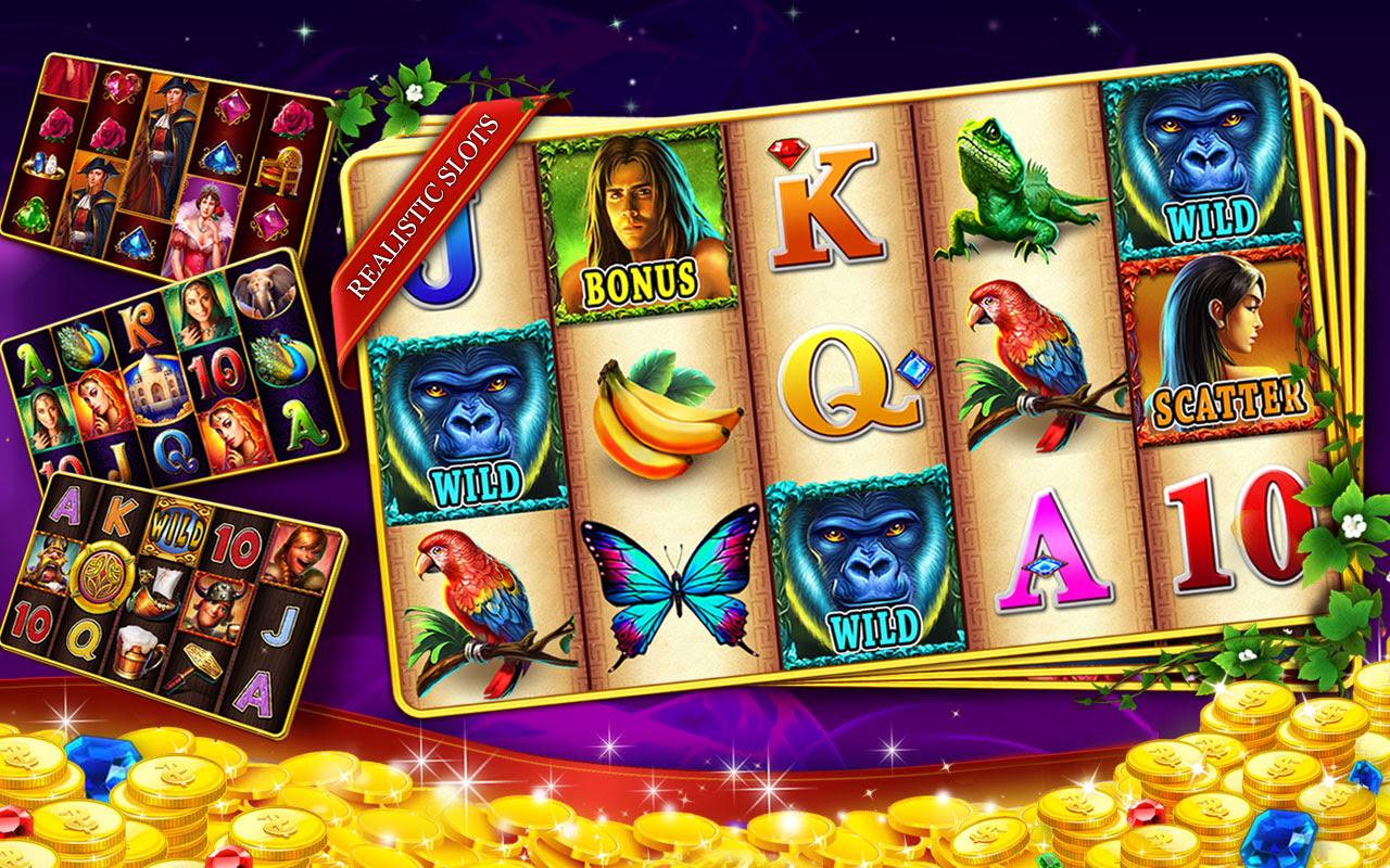 Slots machines games free