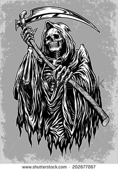 Grim Reaper Vector Free At Getdrawingscom Free For Personal Use
