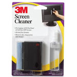3M Screen Cleaning Kit, Unscented - 6 fl oz Spray Bottle