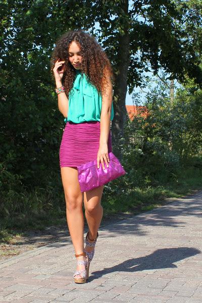 Magenta-asos-skirt-aquamarine-sustilo-top-salmon-h-m-heels_400