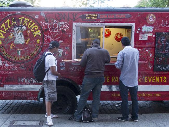 Pizza Truck, Union Sq.