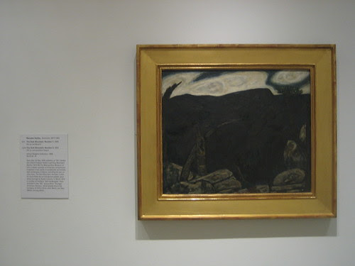 The Dark Mountain, Number 1, 1909, Marsden Hartley _8382