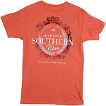 Southern Marsh Southern Class Short Sleeve T-Shirt | Burnt Sienna...