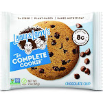 Lenny & Larrys Complete Cookie, Chocolate Chip - 12 pack, 2 oz packets