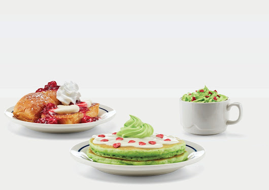IHOP travels to Whoville with its Grinch inspired menu