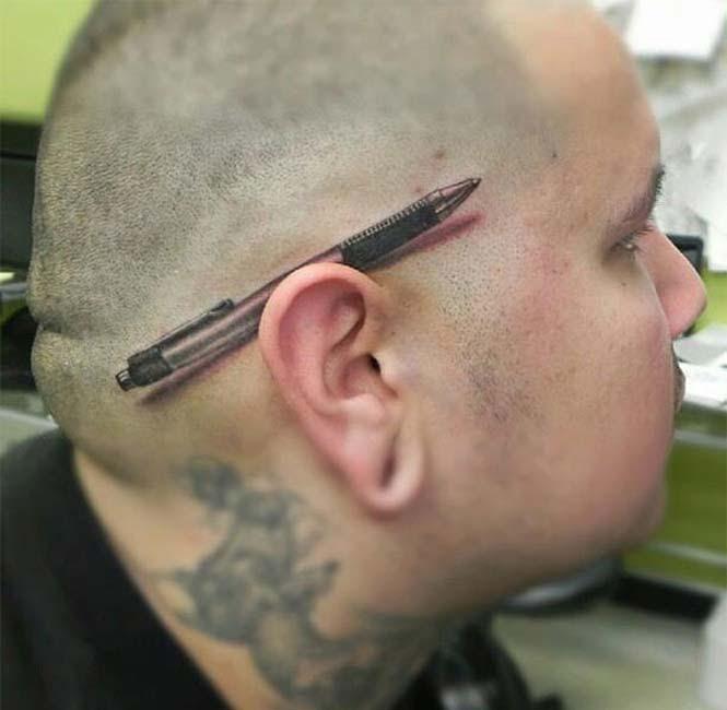 Δημιουργικά τατουάζ που αλληλεπιδρούν με το σώμα! (5)