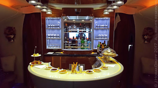 Review: Flying Emirates Business Class London Heathrow to Dubai - Cooksister | Food, Travel, Photography
