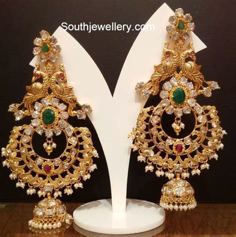 Heavy Antique Jhumkas   jewelry love   Gold earrings