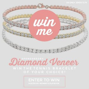 Enter to Win a 5 CT.(3mm) Intense Round Zirconite Cubic Zirconia Sterling Silver (925) Tennis Bracelet from Diamond Veneer
