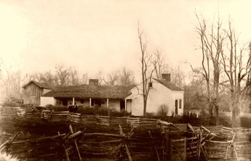 Fazenda da família James em 1877