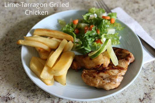Recipe: Lime-Tarragon Grilled Chicken
