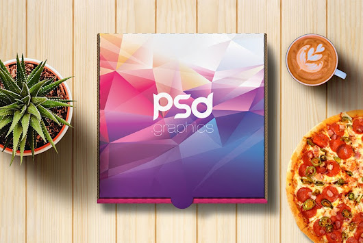 Pizza Box Mockup Free PSD | PSD Graphics