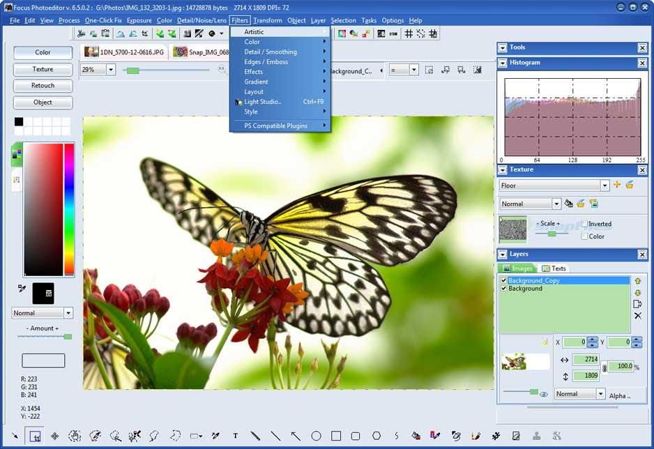 تحميل برنامج Focus Photoeditor 7 لتعديل الصور باحترافية