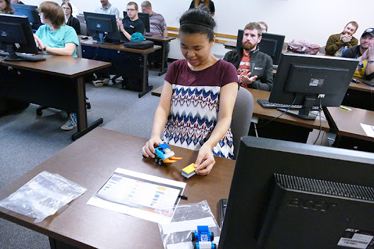Engineering Technology and Information Technology Students Tackle LEGO Instruction Writing Project