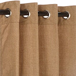 Pawleys Island Sunbrella Curtain - Linen Sesame