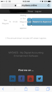 Setting Up Mydaes Web Portal On Your Smartphone Or Tablet Home Screen Mydaes Online Manual