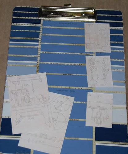 Paint Chip Clipboard 005