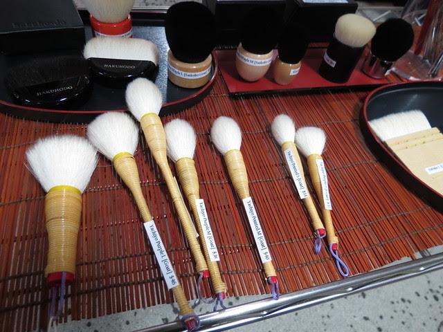 Hakuhodo Yachiyo Brushes