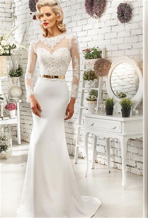 Fall Wedding Dresses For Second Time Older Brides