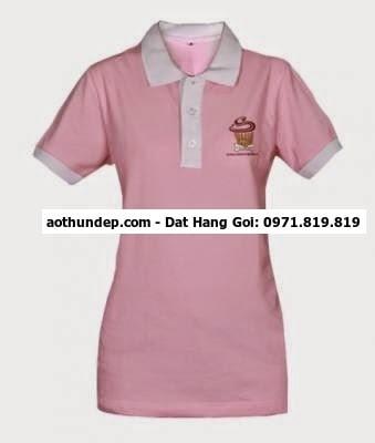 In thêu logo lên áo thun,sơmi đồng phục,tạp dề,áo BHLĐ giá phải