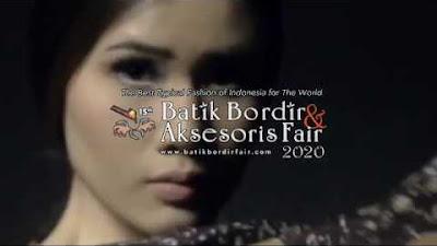 Pameran Batik Bordir & Aksesoris Fair Ditutup, Pintu Pasar Batik Dunia Dibuka