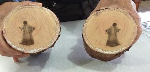 'Jesus': Imagem aparece em tronco de árvore e intriga moradores