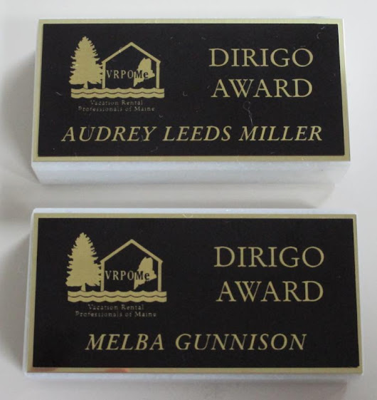 Audrey Miller, Melba Gunnison of Cottage Connection receive 'Dirigo Awards'