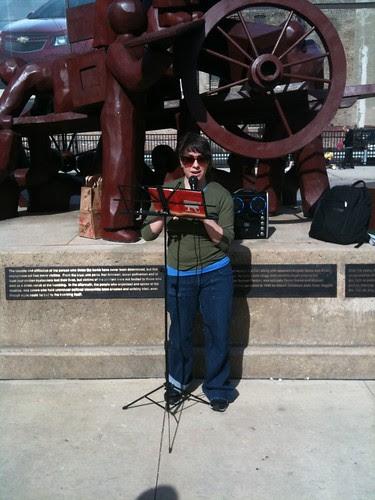 Laura Goldstein reading