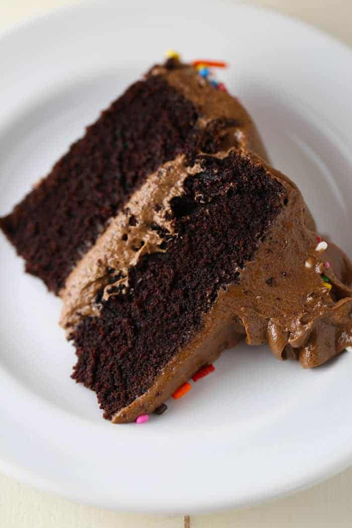 Best Gluten-Free, Dairy-Free Chocolate Cake - Mom Loves Baking