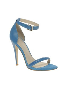 Image 1 ofASOS HARLOT Stiletto Leather Sandals