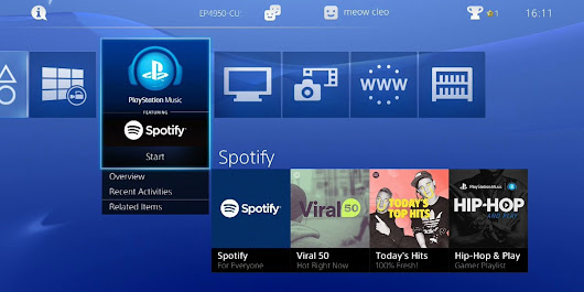 Spotify Can Now Replace Your Game's Music On PlayStation