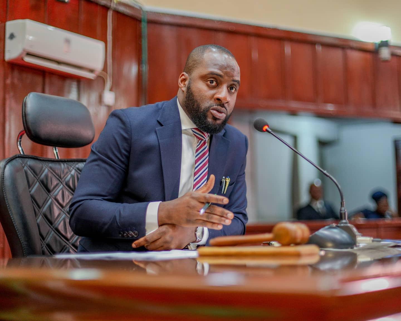 Oyo State House Of Assembly Speaker, Adebo Ogundoyin.