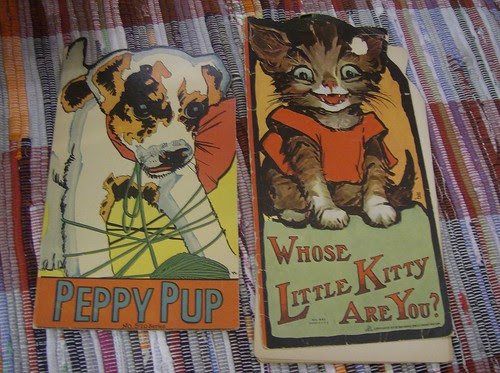 peppy pup (1922); whose little kitty are you? (1913)
