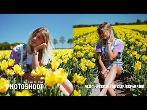Fotoshoot tussen de tulpen! + De foto's