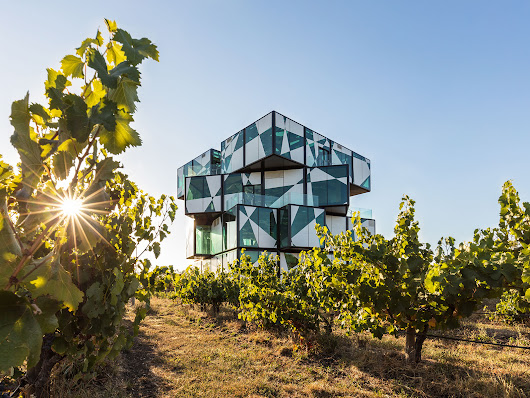 Four-Story Rubik's Cube Will House the World's Most Immersive Wine-Tasting Experience