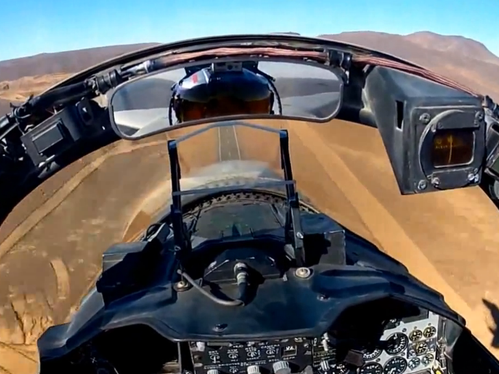 Fighter Pilots With GoPro Cameras Created One Of The Best Cockpit Videos Ever