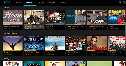 Stream Sling TV on the web from the comforts of Chrome