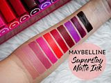 Maybelline Superstay Matte Ink | Review + Swatches