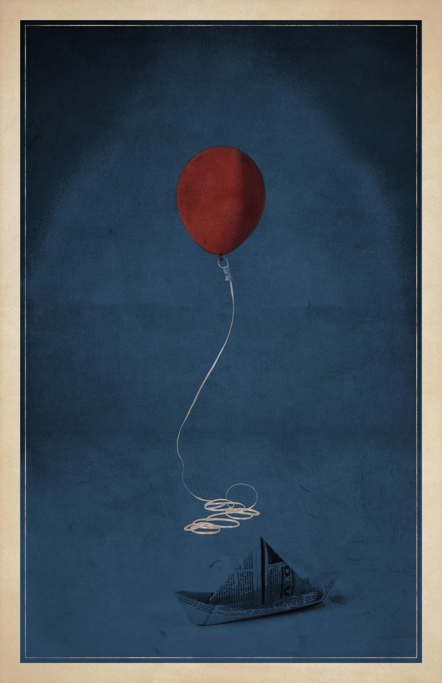 It Minimalist Poster