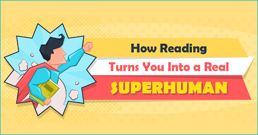 Read a Book and Develop Super Powers | BookBaby Blog | Infographic